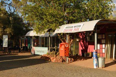 artesian water caravan park