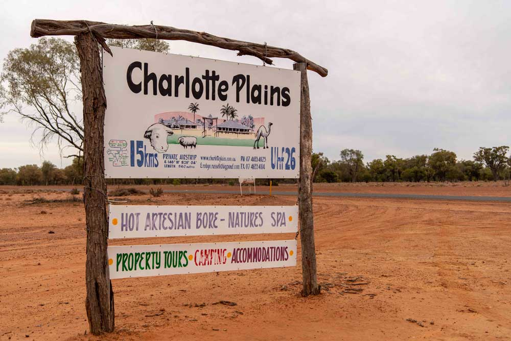 charlotte plains sign