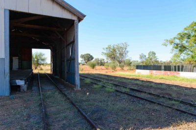 heritage railway in wyandra
