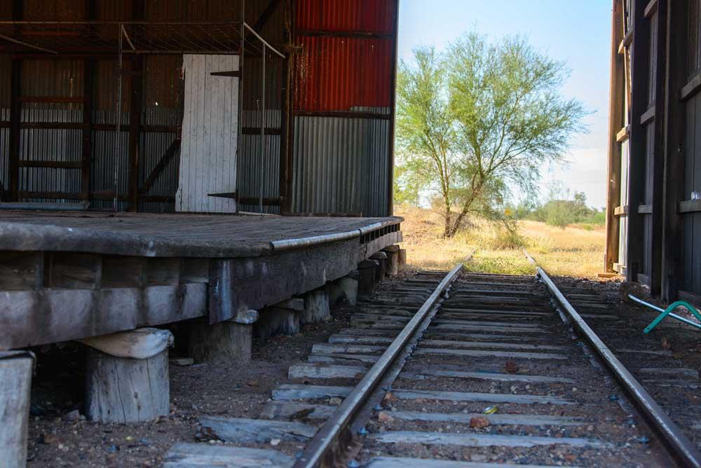 inside heritage railway